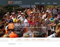 RIT Events Page