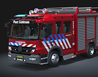 Automobile Modeling: Fire Truck