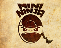 Mini Ninja Logotype