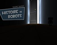 Histoire de robots - Unity 3D