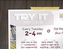 Try It Service Flyer