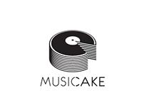 Music Cake - Logo