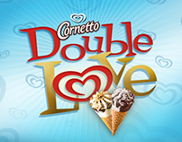 Algida | Cornetto Double Love