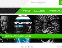 Sports Portal Concept