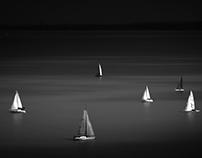 -Balaton,sailboats-