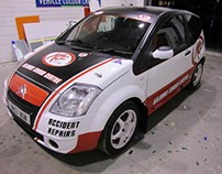 KCC Rally Car Design and Wrap