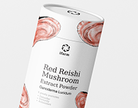 iFarm Red Reishi Mushroom Extract Powder