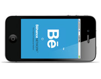 Behance Network iPhone app concept