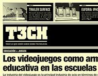 NEWSPAPER / T3CH