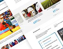 Design for Investment portal of Lipetsk region