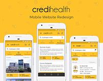 CrediHealth.com: Mobile Website Redesign
