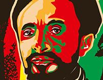 Portrait of Emperor Haile Selassie
