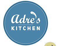 Adre's Kitchen Logo Design