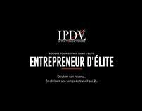 LPDV - Site + page de vente formation