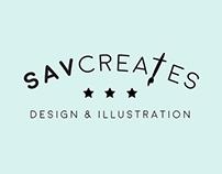 savcreates design & illustration // branding