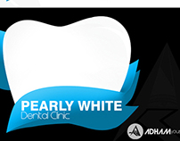 Pearly White Dental Clinic Logo