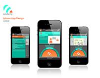 App Design: B-Hive 4G Academy