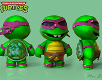 3d Mini Turtles