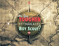 Are you tougher than a Boyscout?