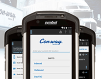 Con-way Freight Dockops Mobile Application
