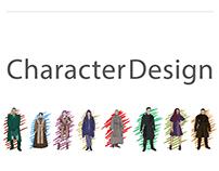 Macbeth Character Design