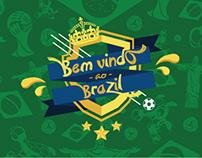 Bem Vindo ao Brazil - World Cup 2014 Project