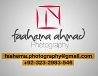 Branding: Faahema Ahmad Photography