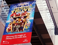 DISNEY ON ICE TREASURE TROVE CAMPAIGN DESIGN