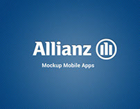 Allianz Indonesia Mobile Apps (Mockup)