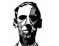 H. P Lovecraft em Xilogravura