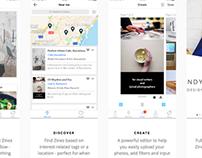 DOKO — mobile social magazines #MadeWithAdobeXD