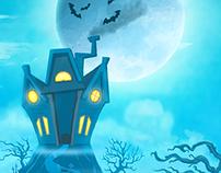 Zany Zombies Arcade Shooter Game Art