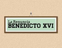 Infografico Renuncia Benedicto XVI