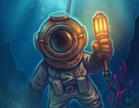 Underwater ocean explorer