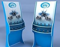 BMS Product Display Stand, ürün teşhir