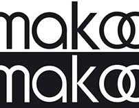 Makoo logo b/w