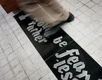 Publika's Typographic Installation