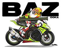 Loris Baz aka Bazooka
