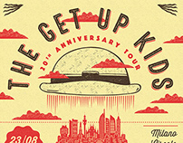 The Get Up Kids 20th Anniversary Tour Poster