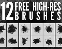 High-Res Photoshop brushes