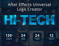 Ultimate Hi-Tech Logo Generator -After Effects Template