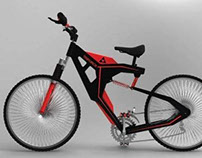 Bicicleta de Downhill Triforce