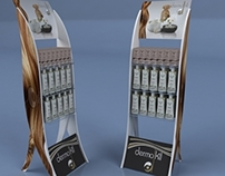 Dermokil Product Display Stand
