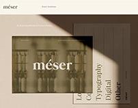 Meser Supply Brand Identity & Packaging Design