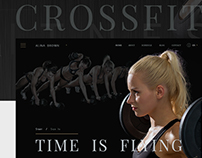 Crossfit. Alina Brown.