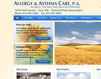 Allergy & Asthma Car, P.A. - Site redesign