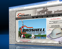 Web Design - Proshellconstruction.com