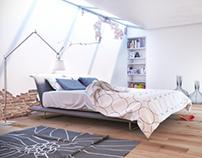 3D restyling | Slaapkamer