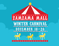 Zamzama Mall | Winter Carnival Campaign