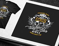 Bikerz logo and T-Shirt design